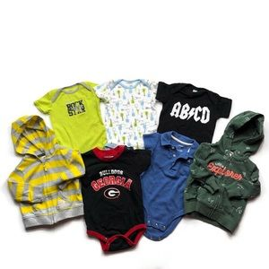 Carter's 6 Month Boys Onesie & Jacket Lot